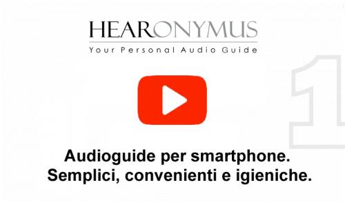 Le audioguide per smartphone Hearonymus si presenta