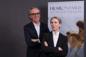 Claudia und Peter Grundmann, Gründer und Geschäftsführer von Hearonymus