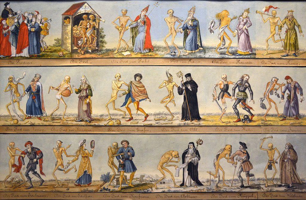 Historisches Museum Basel - Auszug aus dem Basler Totentanz