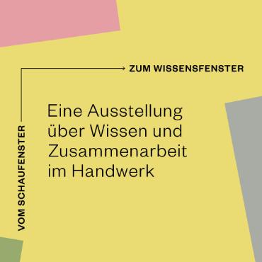 Werkraum Bregenzerwald - Vom Schaufenster Zum Wissensfenster - Beitragsbild