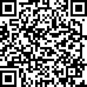"""QR Code für download des Audioguides """"Schaubergwerk Leogang"""""""